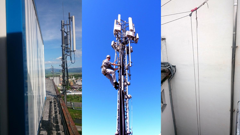 vyskove prace - Telekomunikačné technológie