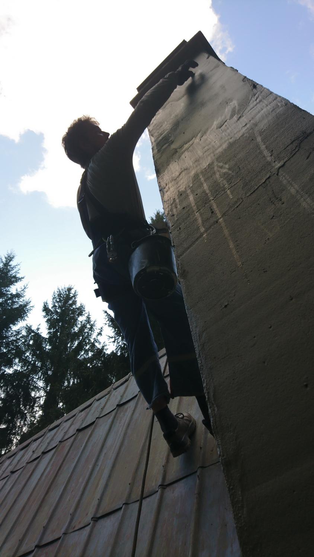 Oprava komína | výškové práce