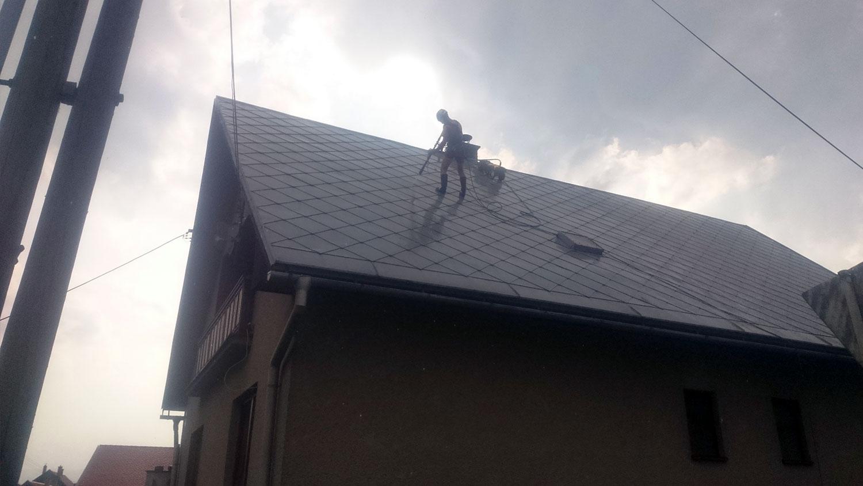 čistenie strechy | výškové práce