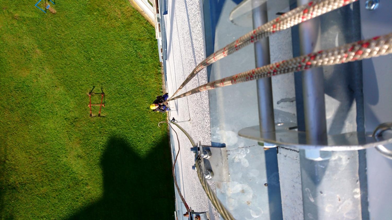 montáž bleskozvodu panelový dom | výškové práce