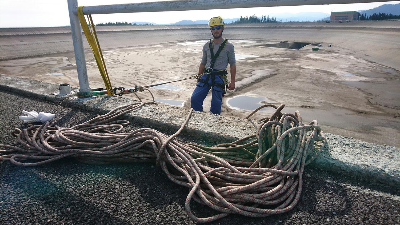 vyskove prace - Vodná elektráreň Čierny Váh