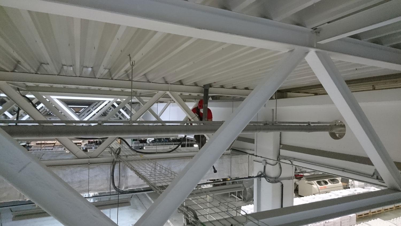 stropné konštrukcie | výškové práce