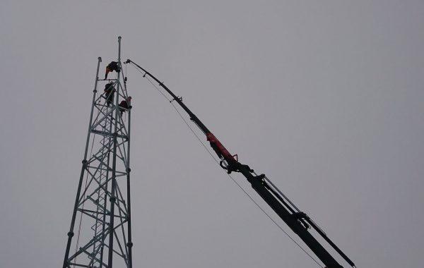 vyskove prace - Stavba stožiara